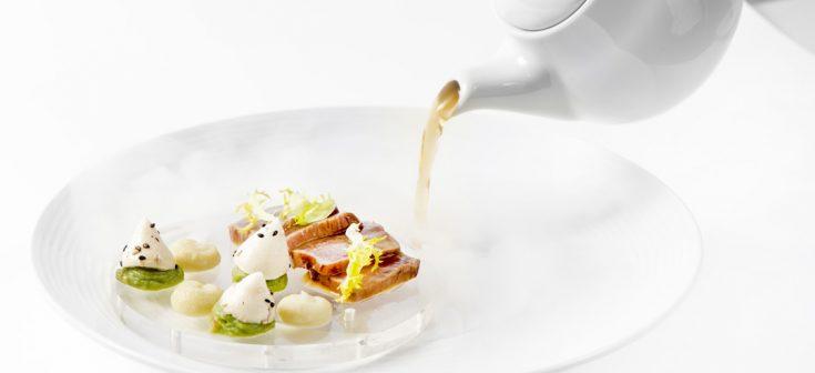 Tonno marinato allo zenzero con finta maionese di wasabi - M. Iannaccone