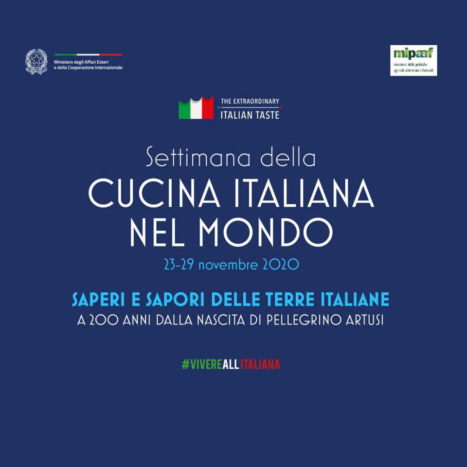 LA QUINTA EDIZIONE DELLA SETTIMANA DELLA CUCINA ITALIANA NEL MONDO